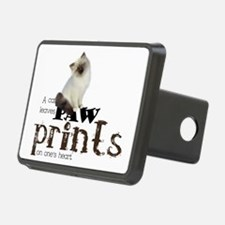Brown / White Birman Cat Hitch Cover