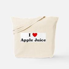 I love Apple Juice Tote Bag
