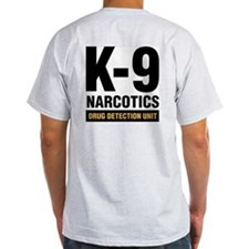 k-9 Dog Handler T-Shirt Narcotics Drug Detection