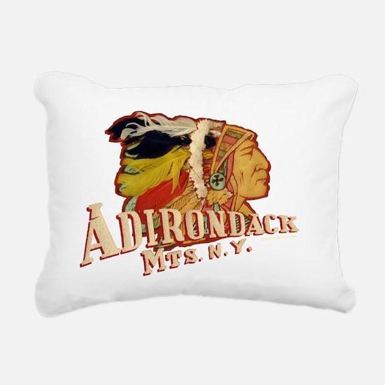 Adirondack Indian Rectangular Canvas Pillow