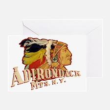 Adirondack Indian Greeting Card