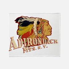 Adirondack Indian Throw Blanket