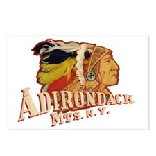 Adirondack Indian Postcards (Package of 8)