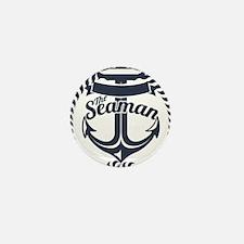 Seaman Mini Button