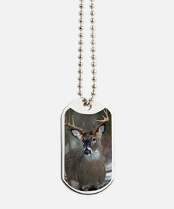 10 point buck Dog Tags