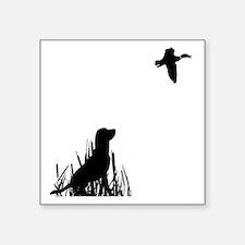 """Duck Hunt Square Sticker 3"""" x 3"""""""