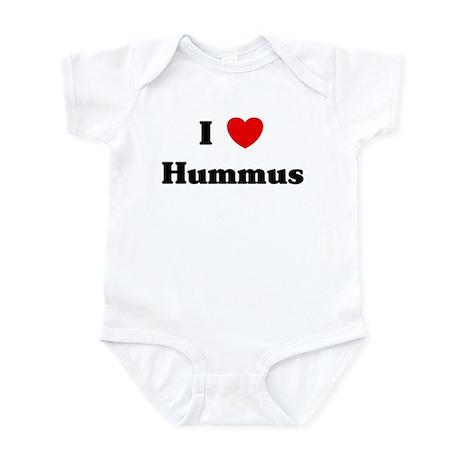 I love Hummus Infant Bodysuit