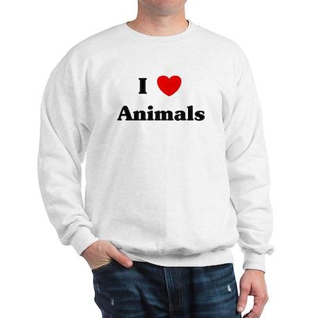 I love Animals Sweatshirt