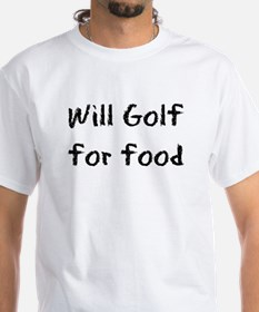 Will Golf for Food Shirt