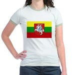 Lithuania w/ coat of arms Ringer T-shirt