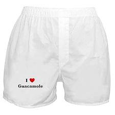 I love Guacamole Boxer Shorts