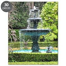 Charleston South Carolina Garden Fountain Puzzle
