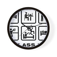 Remote-Control-Car-ABA1 Wall Clock