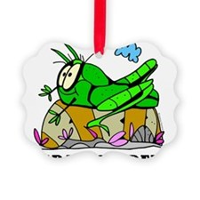 Cartoon Grasshopper by Lorenzo Ornament