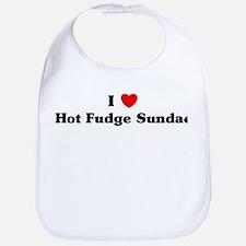 I love Hot Fudge Sundae Bib