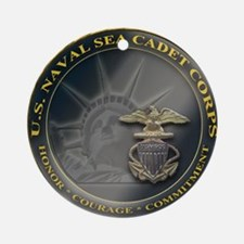 Naval Sea Cadet Corps - Region 3-4  Round Ornament