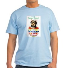 Easter Yorkie T-Shirt