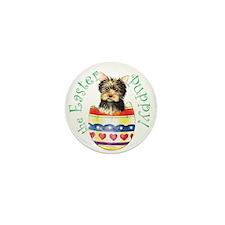Easter Yorkie Mini Button