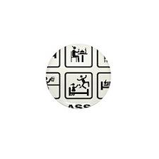 Gambling-ABA1 Mini Button