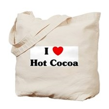 I love Hot Cocoa Tote Bag