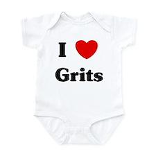 I love Grits Infant Bodysuit