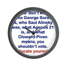 IF YOU DONT KNOW... Wall Clock