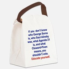 IF YOU DONT KNOW... Canvas Lunch Bag