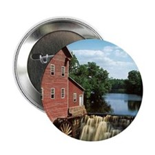 "grist mill 2.25"" Button"