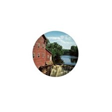 grist mill Mini Button