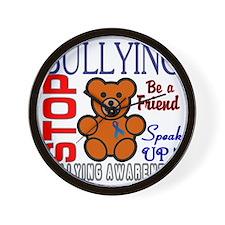 Bullying Awareness Wall Clock