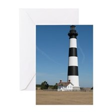 Bodie Island Lighthouse Outer Banks  Greeting Card