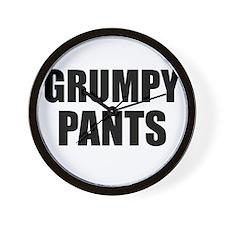 Grumpy Pants Wall Clock