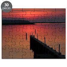 Outer Banks North Carolina Sunset Puzzle