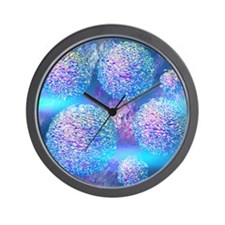 Outer Flow III Wall Clock