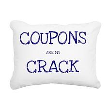 Coupons Are Crack Rectangular Canvas Pillow