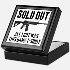 SOLD OUT All I Got Was This Damn T-Sh Keepsake Box