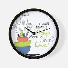A Kitchen Wall Clock