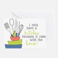 A Kitchen Greeting Card