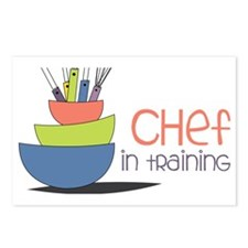 Chef in Training Postcards (Package of 8)