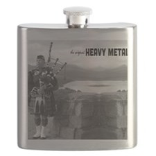 Bagpipes Heavy Metal Mouse Pad Flask