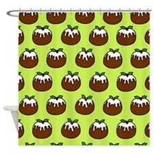 'Puddings' Shower Curtain