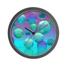 Ocean Dreams Wall Clock