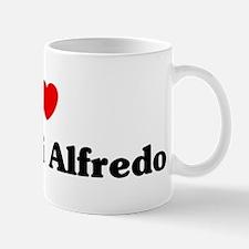 I love Fettucini Alfredo Mug