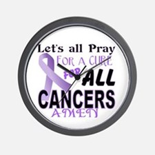 All Cancer Wall Clock