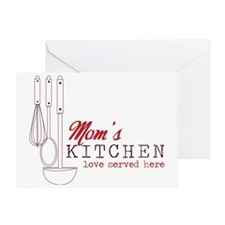 Mom's Kitchen Greeting Card