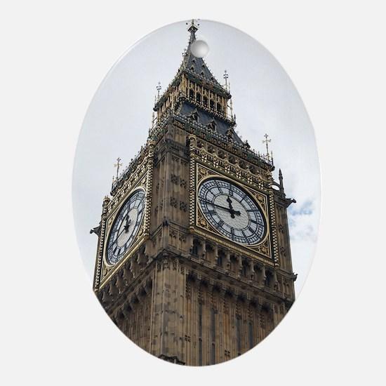 big ben Oval Ornament