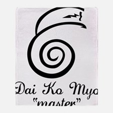 Dai Ko Myo Master Throw Blanket