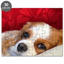 Blenheim Cavalier King Charles Spaniel Puzzle