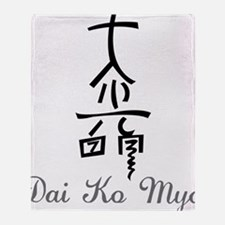 Dai Ko Myo Throw Blanket