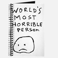 Worlds Most Horrible Person Journal